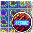 3D Security Hologram Stickers